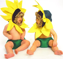 Sunflower Twins