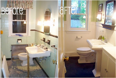 1949 Bathroom Renovation Before and After