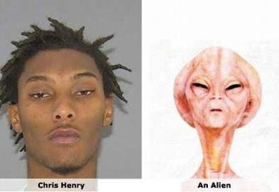 Foto Wajah Selebriti Dunia Mirip Alien - Fakta Aneh Luc