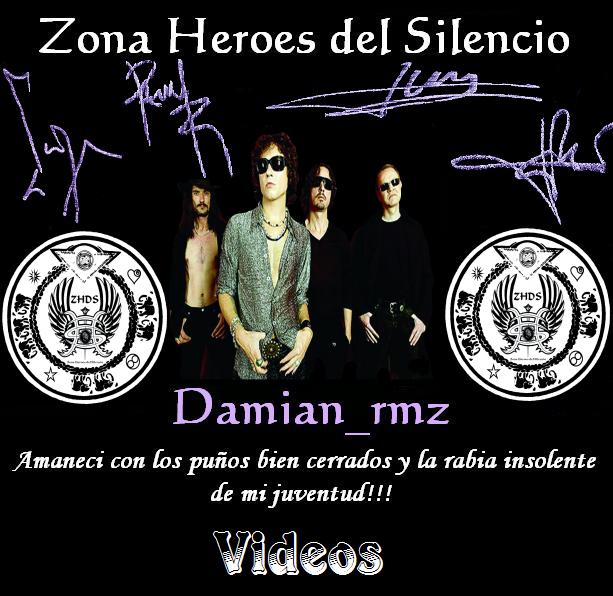 Videos Zona Heroes del Silencio