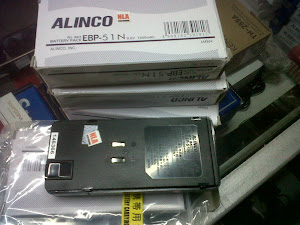 Battery pack alinco
