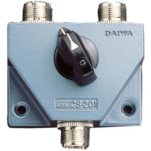 Daiwa CS-201 coax ant switch