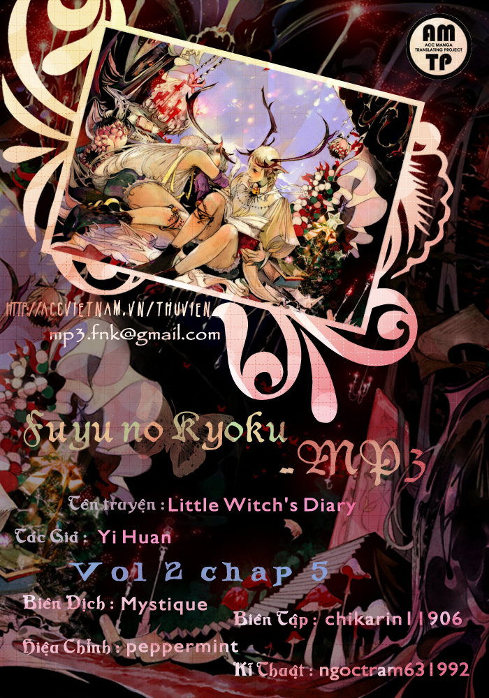 Little Witch's Diary: Chapter 2: Ch.05