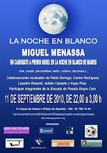 Miguel Oscar Menassa. Un candidato a Premio Nobel en la Noche en blanco de Madrid