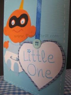 Baby Jack Jack handmade card
