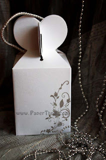 Lovely hearts gift favour boxes