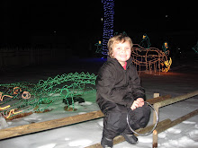 Kyler at Zoo lights