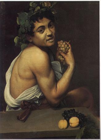 Caravaggio's Corner: Bacchino malato