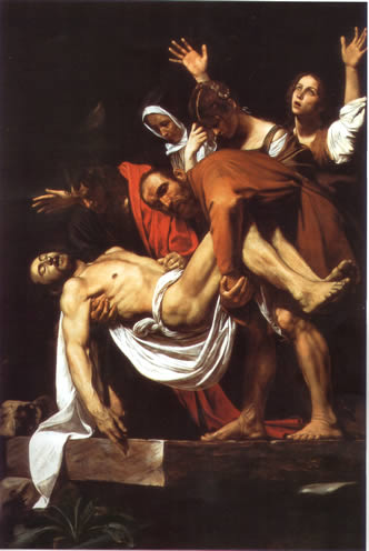 Caravaggio's Corner: Deposizione
