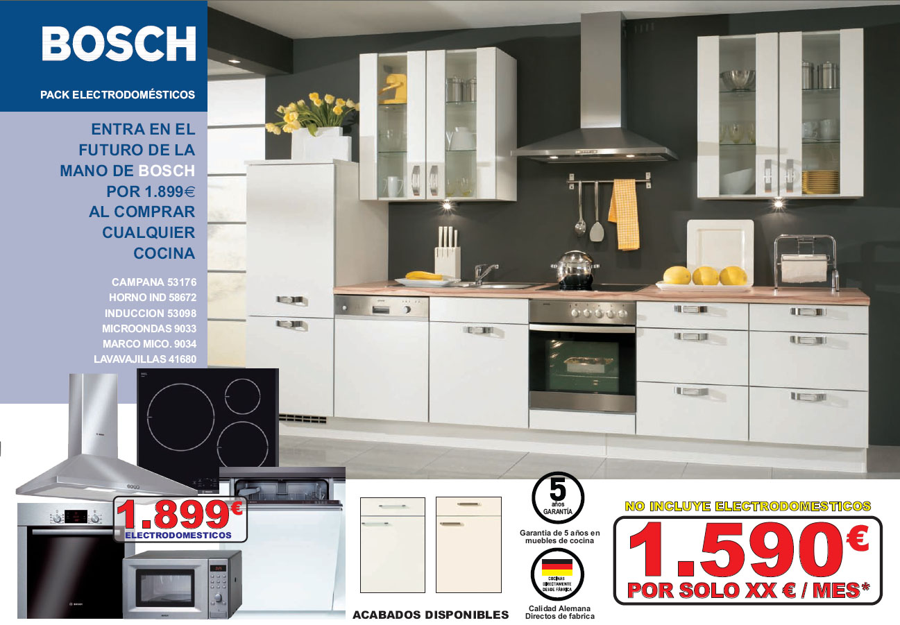 Milar segura nuevo folleto segura kitchen cocinas alemanas for Precio electrodomesticos cocina