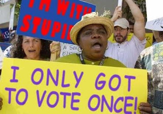 VoterFraud - Vote Nov 4th Stand up and be counted... at least once.