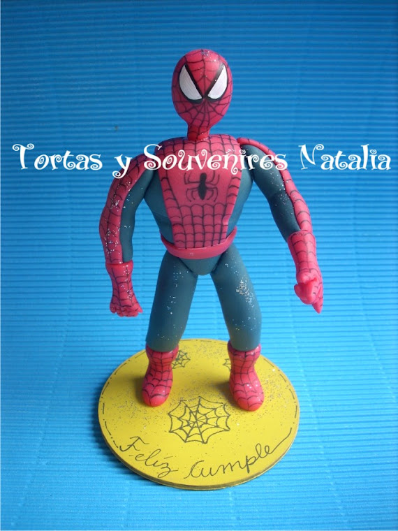 ADORNO SPIDERMAN