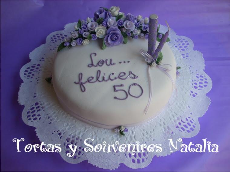 TORTA 50 AÑOS
