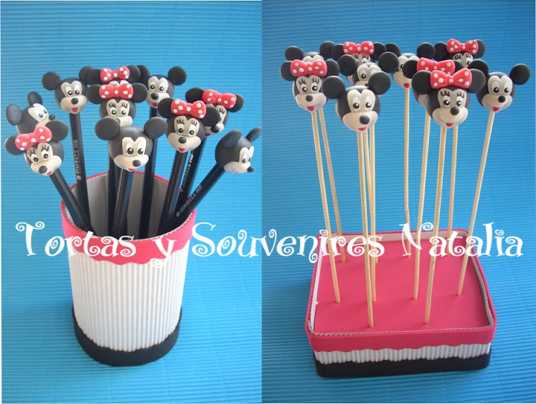LAPICES-PINCHES MICKEY-MINNIE