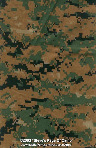 Camo the Army is Considering. MARPAT