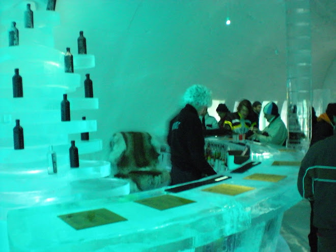 Ice Bar in Kiruna