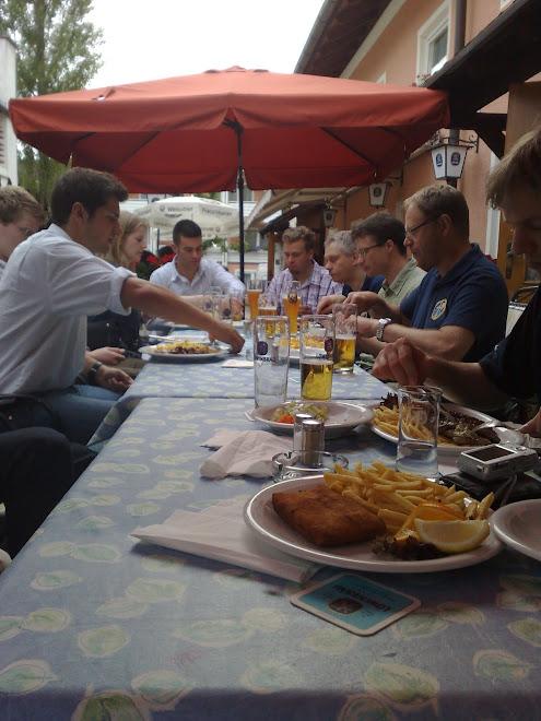 Dinner at Oberpfaffenhofen