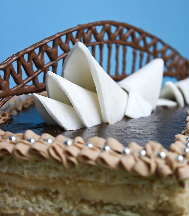 Sydney Opera House Opera Cake Sprinkle Bakes