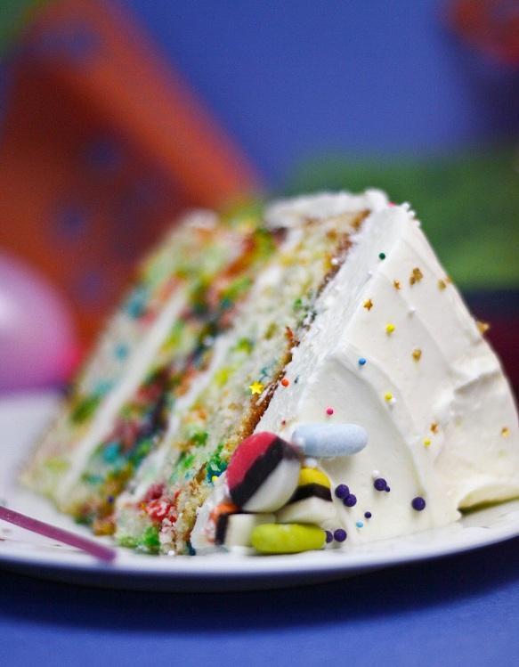 Sprinkle Cake From Sprinkle Bakes