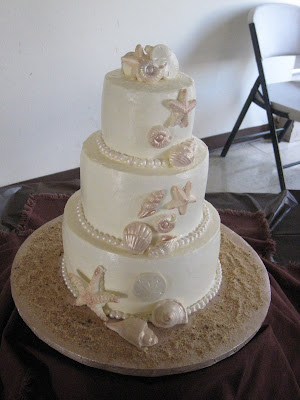 This was for a beach themed wedding It 39s chocolate cake with chocolate