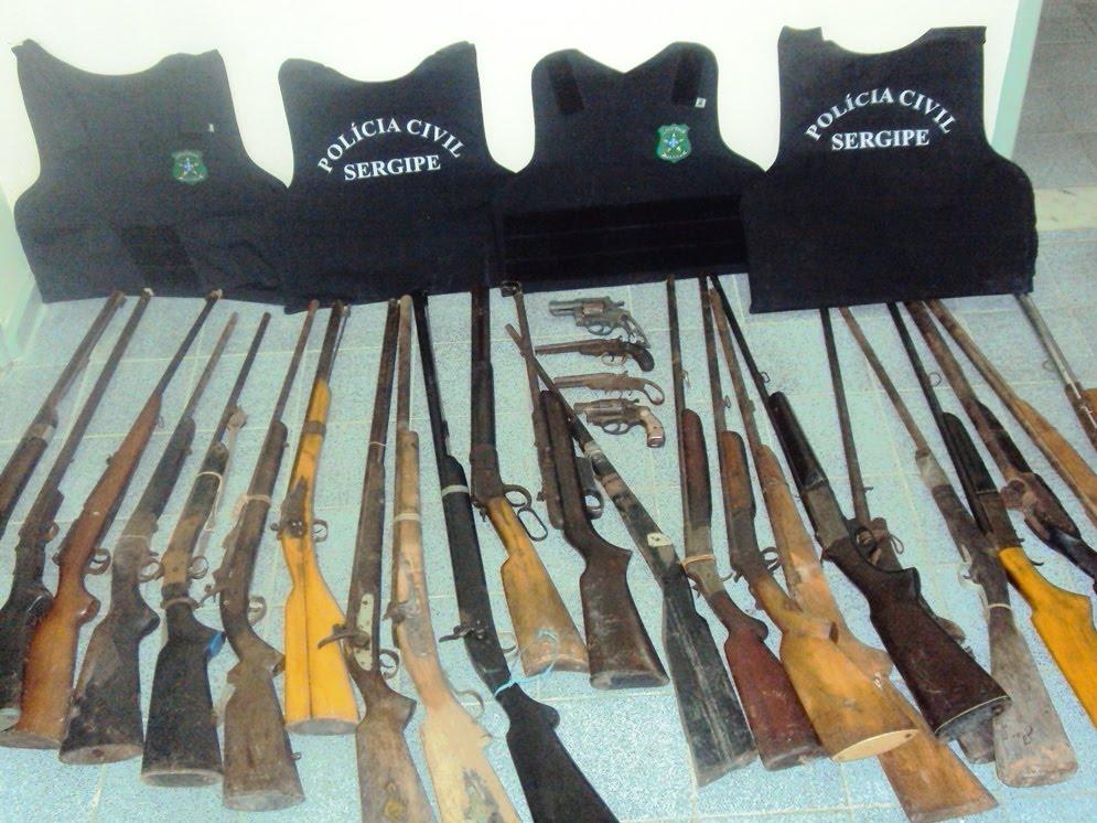 Acontece em sergipe oficina de com rcio ilegal de armas for Oficina armas