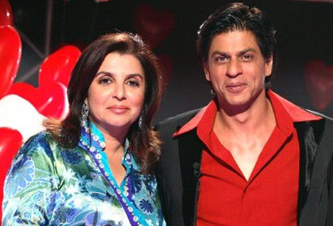 All is well between SRK and Farah Khan