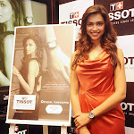 Deepika Padukone Tissot Boutique Cute Photos