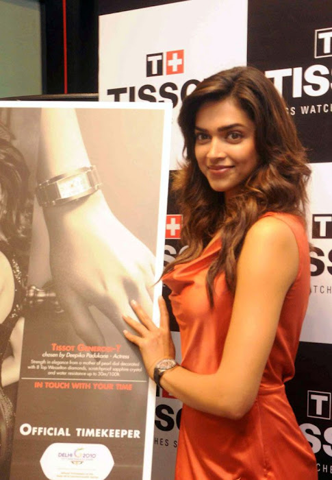 deepika padukone tissot boutique actress pics