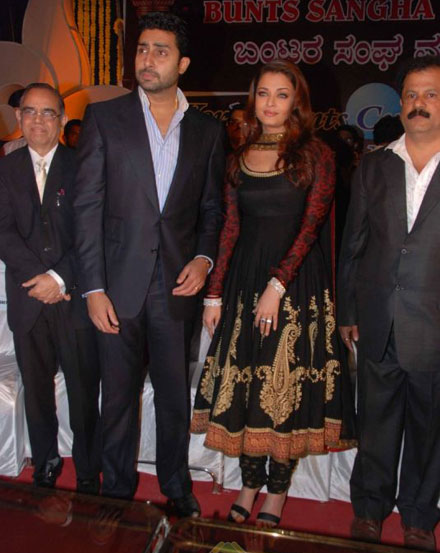 Aishwarya Rai and Abhishek Bachchan attend Bunts Sangha event