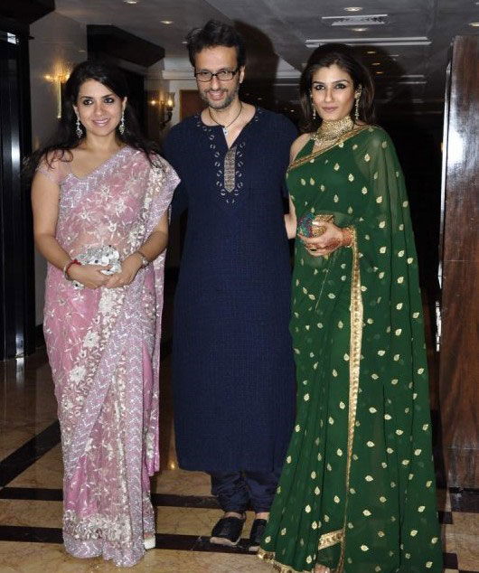 Bollywood Stars at Sameer Soni-Neelam's wedding reception Pictures