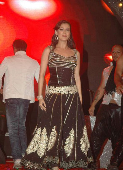 diya mirza gorgeous performence at vemma health product launch glamour  images