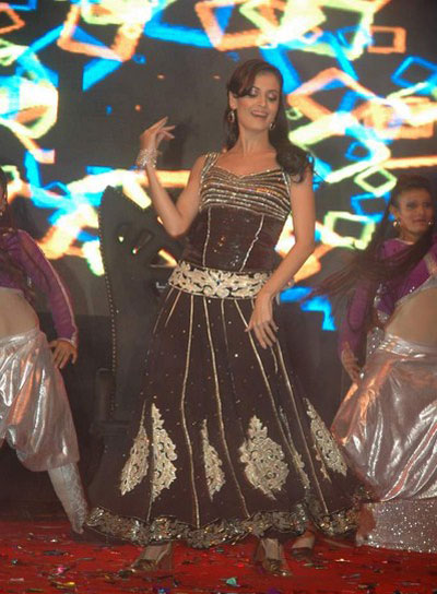diya mirza gorgeous performence at vemma health product launch unseen pics