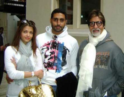 Bachchan Family Real Life Pics clicked in London