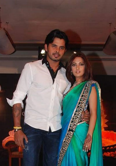 Riya Sen, Sreesanth at Gitanjali&#39;s Rivaaz collection promotion