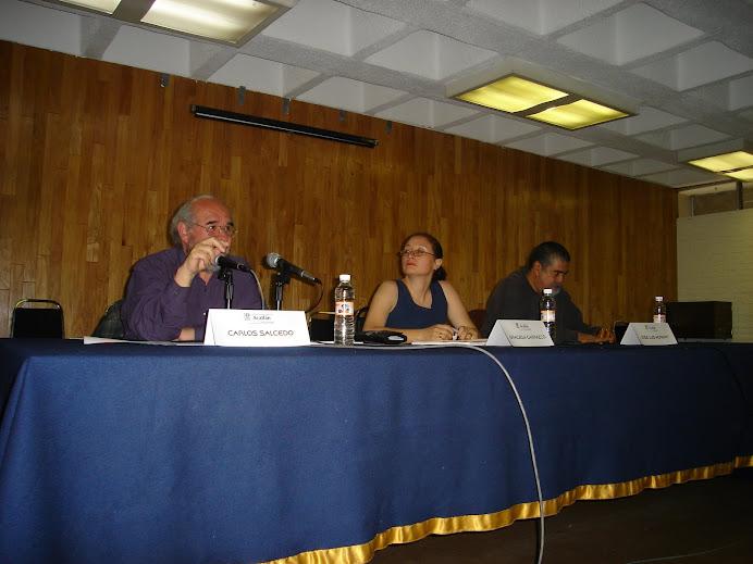 """Mesa redonda """"El Movimiento del 68 y su transición: 40 Años"""", 30 de septiembre de 2008"""