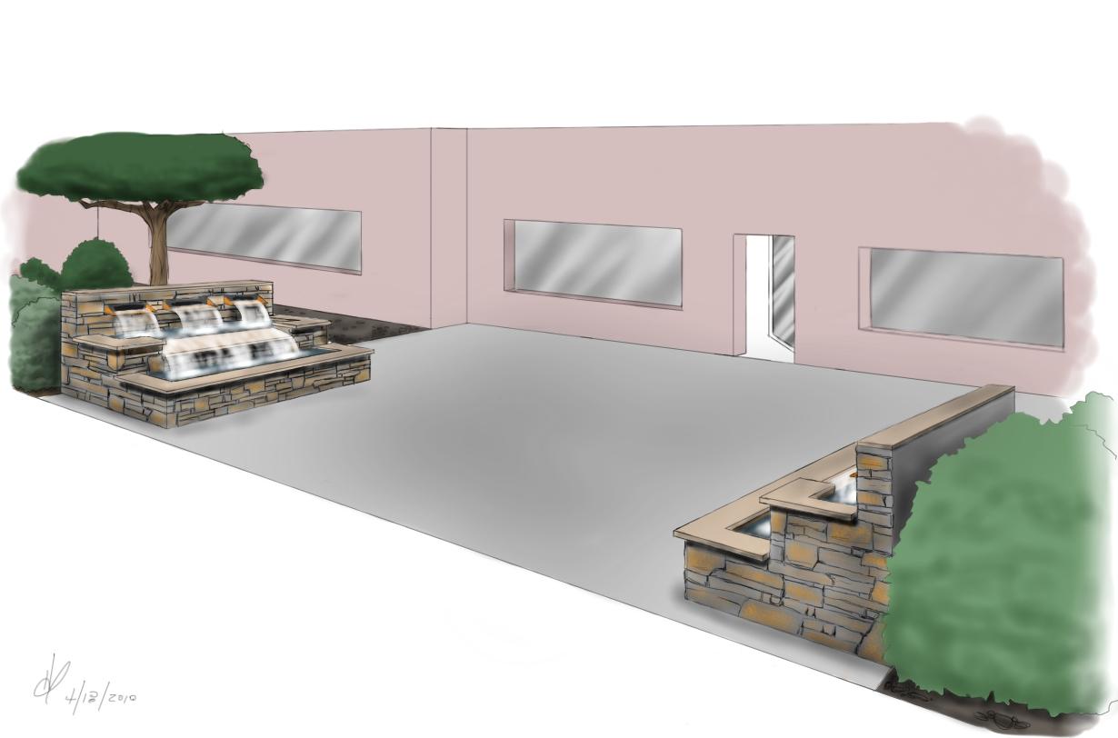 Design My Own Backyard Landscape Drawing House Design