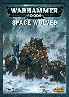 Space Wolve Codex Cover