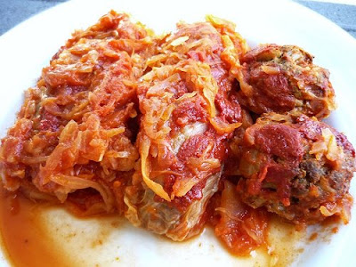 Crockpot recipes for cabbage rolls