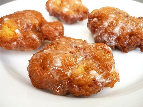 Apple Fritters for Breakfast?