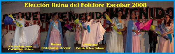 Elecciòn Reina del Folclore de Escobar  - 11/10/08