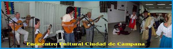Ciclo de Encuentros con la Cultura Campana 29/11/2008