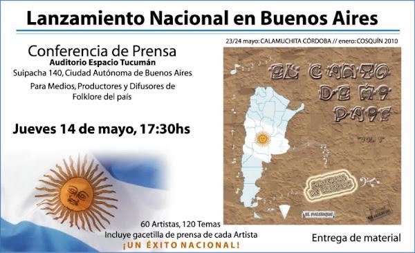 Presentacion y conferencia de prensa 14/05/09