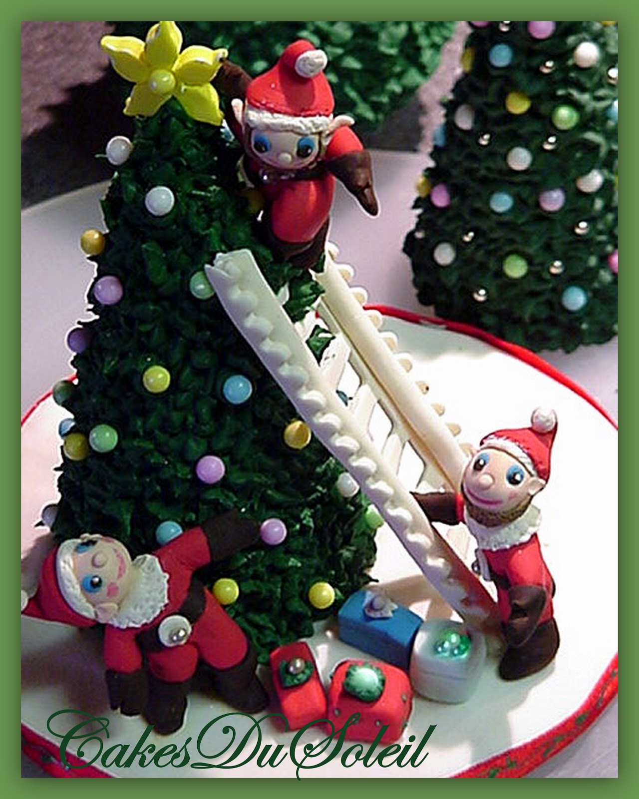 Sugar Cake Decorations For Christmas : ~ Sugar Teachers ~ Cake Decorating and Sugar Art Tutorials ...