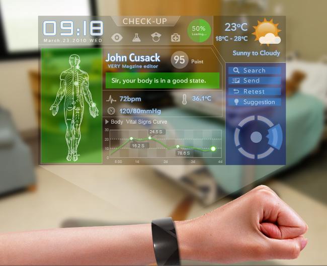 Que tal informações sobre sua saúde direto no pulso?