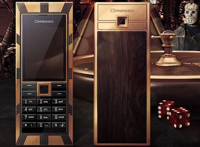 Celular de Ouro e Diamante negro custa U$: 1 Milhão