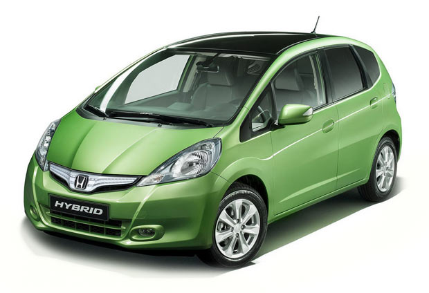 Honda Fit Hybrid tem design diferenciado