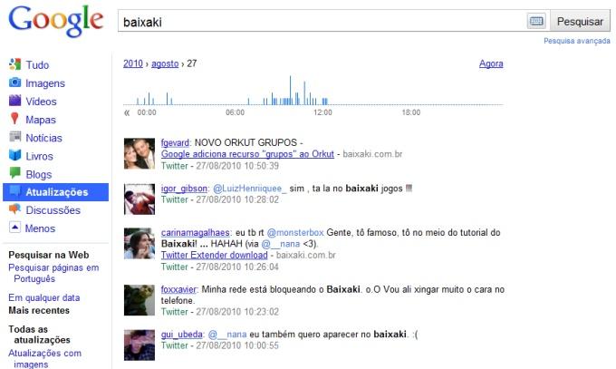 Google lança busca em tempo real que inclui Facebook e Twitter