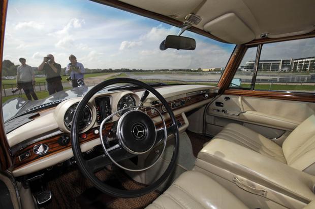 Interior do modelo de 1969