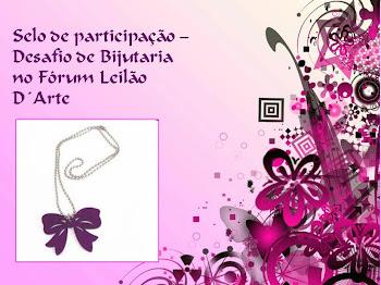 Selo de participação do concurso de bijuteria