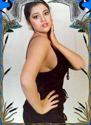 glamorous actress meena showing her cleavages